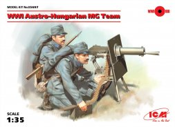 ICM Austro-Hungarian MG Team WWI (M07/12) 1:35