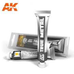 AK Interactive True Metal - Gold