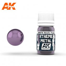 AK Interactive - Xtreme Metal Metallic Purple 30ml