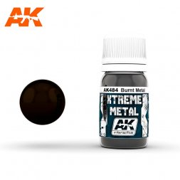 AK Interactive - Xtreme Metal Burn Metal 30ml