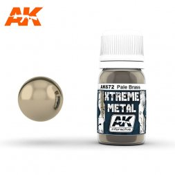 AK Interactive - Xtreme Metal Pale Brass 30ml