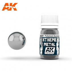 AK Interactive - Xtreme Metal Polished Aluminium 30ml