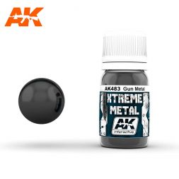 AK Interactive - Xtreme Metal Gun Metal 30ml