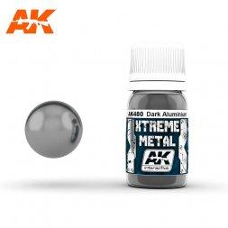 AK Interactive - Xtreme Metal Drak Aluminium 30ml