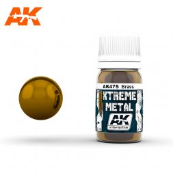 AK Interactive - Xtreme Metal Brass 30ml