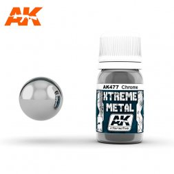 AK Interactive - Xtreme Metal Chrome 30ml