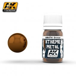 AK Interactive - Xtreme Metal Bronze 30ml