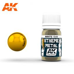 AK Interactive - Xtreme Metal Gold 30ml