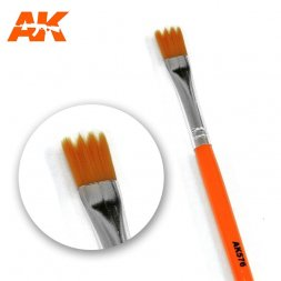 AK Interactive - Weathering Brush Saw shape (Synthentic)