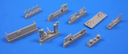 CMK Pz.Kpfw.III Coolers and exhausts for Dragon 1:35
