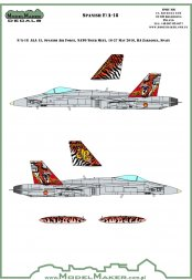 F/A-18 30 Years of ALA 15 - Tiger Meet 2016 1:72
