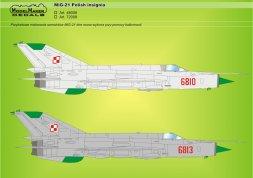 ModelMaker MiG-21 polish insignia 1:72