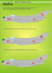 MiG-19 in Polish service 1:72