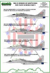 MiG-29 - Heroes of Kosciuszko (New Camo.) Part.I 1:48