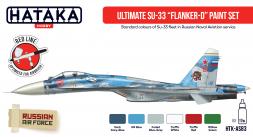 Russian Modern Naval - Su-33 Flanker-D paint set