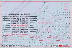 Mil Mi-24 Hind family part.2 1:72
