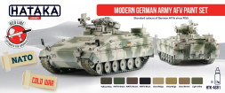 Hataka Hobby German Modern Army AFV paint set