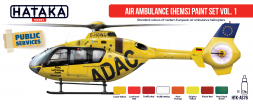 Hataka Hobby Air Ambulance (HEMS) paint set vol. 1