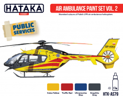 Hataka Hobby Air Ambulance (HEMS) paint set vol. 2