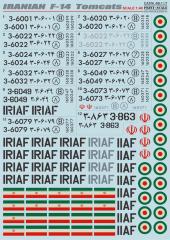 F-14 Tomcats - IRIAF service 1:48