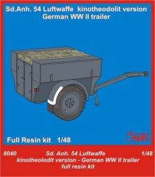 Sd.Anh.54 Luftwaffe Kinotheodolit version 1:48