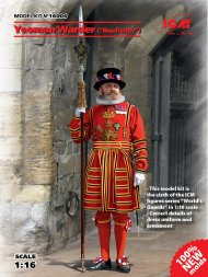 ICM Yeoman Warder - Beefeater 1:16