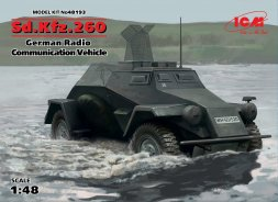 Sd.Kfz.260 - German Radio Communication Vehicle 1:48