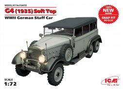 Mercedes-Benz G-4 (1935) Soft Top 1:72