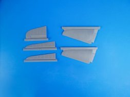 CMK A6M5c Zero - tail Control Surfaces for Hasegawa 1:32
