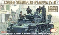 Pz.Kpfw.IV ausf.B - 21 Panzerdivision 1943 1:72
