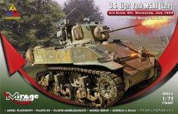 M5A1 (Late) U.S. Light Tank 1:72