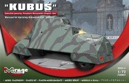 Kubus - Warsaw 44 Uprising Armoured Car 1:72