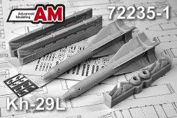 Advanced modeling Kh-29L with AKU-58-1 1:72