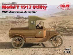 ICM Ford Model T 1917 - Utility  1:35