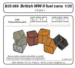 CMK British WW II fuel cans 1:35