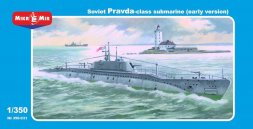 Mikro Mir Soviet Pravda - class submarine (early version) 1:350