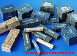 Plusmmodel German Ammunition Containers WW II 1:35