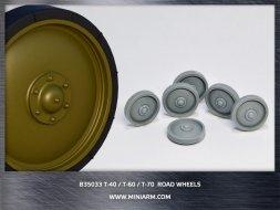 Miniarm T-40/T-60/T-70 Road wheels 1:35