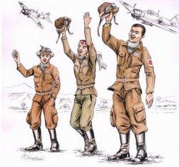 CMK Japanese kamikaze pilots 1:72