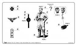 CMK Luftwaffe Aces W.Wubke 1:32