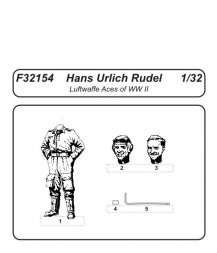 CMK Luftwaffe Aces Hans Urlich Rudel 1:32