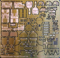NH Detail Messerschmitt Me-609 Detail Set 1:72