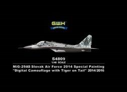 MiG-29AS Slovak Air Force 2014 1:48
