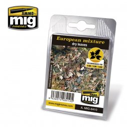AMMO of MiG - European leaves mix