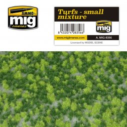 AMMO of MiG - Turfs - small mixture 230x130mm
