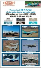 AKAN Iran AF - MiG-29 (IIAF, IRIAF)