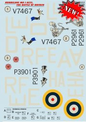 Print Scale Hurricane MK I Aces The Battle Of Britain 1:32