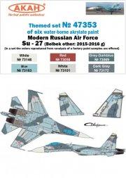 AKAN Russian Modern Air Force - Su-27 Belbek