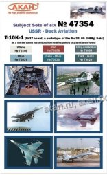 AKAN Russian Deck Aviation - T-10-K1 (SU-33 prototype)