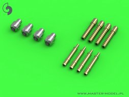 Master Typhoon Mk IB early cannons  (flat recoil springs) 1:24